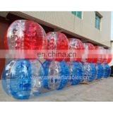 Inflatable snow ball, inflatable PVC suits ball, Inflatable transparent bumper ball cold resistance