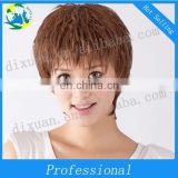 Actory direct sale personality short hair girl with short curly hair