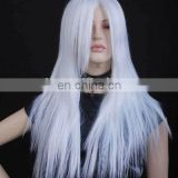 Wholesale cheap Synthetic white japanese manga Cosplay Wig CS-0003