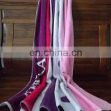 Woven Technics and Beach Towel Type high quality 100% cotton Lounge Chair towel