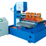 JINDING GH1048 Vertical Metal/Mono-crystal silicon Cutting Bandsaw