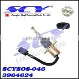 New Shut Off Solenoid Valve for Cummins Komatsu Excavator 6743819140 3964624