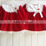 Wholesale new red cute children baby boutique costume soft fabric children fall winter clothes