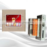 Free Setting Home Intelligent Touch Screen Background Music System With Remote Control