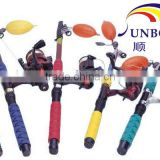 UL Approved UV Resistant High Quality Flexible Flame Retardant Fishing Rod Cover Type Fishing Rod Sleeves