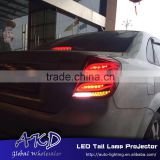 AKD Car Styling LED Tail Lamp for Chevrolet Lacetti LED Tail Lights New Lacetti Rear Trunk Lamp DRL+Turn Signal+Reverse+Brake