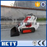 Rubber tracked mini loader, small track skid steer loader on sale