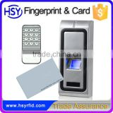 HSY-F107S Low Cost Remote Control Fingerprint Card Reader Door Access Time Attendance System