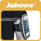 2015 Jabees new arrival washable running sport black armband for smartphone