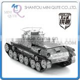 Piece Fun 3D Metal Puzzle military Chi-Ha Tank vehicle Adult DIY assemble model educational toys gift NO GLUE NEEDED NO.PF 9104