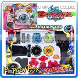 Mini Qute 19pcs/lot free shipping beyblade classic toy spinning top peg-top learning & education toys for boys NO.MQ 130