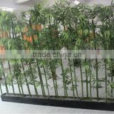 Home decorations artificial bamboo bonsai real trunk