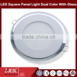 Double Color glass housing 18W round LED panel lights                                                                         Quality Choice