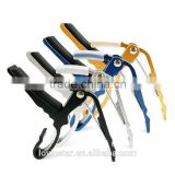 New Stock usa warehouse custom Black,Silver,Blue,Gold Acoustic Electric Quick Change Guitar Capo
