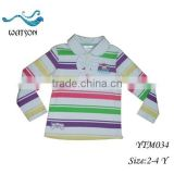 Children Girl Long Sleeve Cotton Medium Thick Top Wear