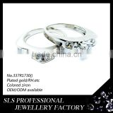Sterling silver ring for couple wear saudi arabia gold wedding ring price
