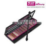 Chinese factory Custom cosmetics 12 colors eyeshadow makeup palette create own brand