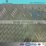 aluminum sheet manufacturer in China, pattern plate diamond plate, five bars plate 1050/1060/1100