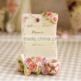 AN465 ANPHY Fashion Household Decoration Gift Cell Phone Card Resin Holder Stand Display 9.5*7*12cm