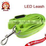led christmas lights Flashing Dog Harness Safety Lead Light Nylon 120cm/47'', Pet Leash Rope Belt