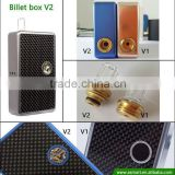 real shell button Asmart billet box v2 mod with updated user-friendly brass ring
