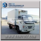 superior quality 4X2 2t thermal van truck
