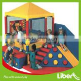 2014 New Style and Motorized Kids Indoor Soft Play House For Sale with Slide LE.RT.068                                                                         Quality Choice