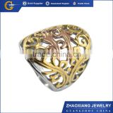 K03965 2015 china website gold jewelry stainless steel silver ring gold ring fashion ring
