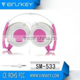 "New Style SM-533 2013 ""l"" Plug/Handsfree 3.5mm In-ear Earphone For For MP3/MP4/Mobile Phone/Computer"