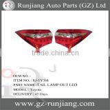 Tail Lamp Out With LED Light For Toyota Corolla 2014