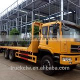 CLW 6x4 low bed truck, low bed tow truck for sale