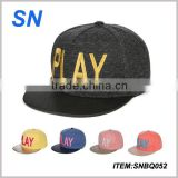 New design high quality custom embroidery hip hop snapback hat                                                                         Quality Choice