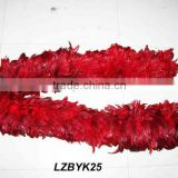 Full Fluffy coque feather Boa LZBYK25
