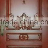 Luxury Solid Teak Wood Carving Door Designs For Villa DJ-S291