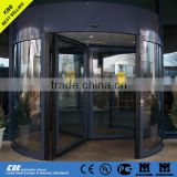Automatic revolving door from china suppliers with low price with laminated glass aluminum frame with Anodizing Surface