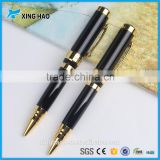 Spring style clip metal ball pen rotating retractable action with custom logo promotion gifts refill ballpoint pens