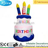 DJ-XT-61Inflatable Birthday Cake Fun Express Happy Birthday Party Decoration New