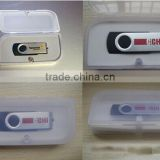 custom low cost transparent PP plastic usb gift box for USB flash drive                                                                         Quality Choice