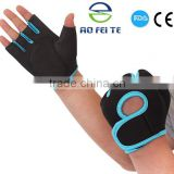 Aofeite Factory price colored custom half finger cycling gloves