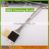 "Wire Grill Brush 12"" - Heavy Duty Stainless Steel BBQ Grill Brush - The Best Way to Easily Clean Your Barbecue"