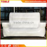Customize inflatable sofa/inflatable sofa replica for event