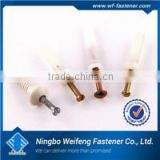 Ningbo Fastener supply nylon fixing anchor with nail screw bag package China manufacturers&importers