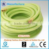 "2016 Good quality new 3 layers 1"" pvc clear fiber reinforced hose"