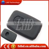 Toyota car key cover with 3 button key cover replacement in black