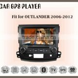 Fit for Mitsubishi Outlander 2006-2012 CAR DVD BLUETOOTH TV GPS NAVIGATION IPOD 3G/WIFI PLAYER