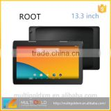 OEM/ODM 13 inch Tablet, ROOT 13.3 inch IPS Screen 1920*1080 2GB RAM 32GB ROM Android Tablet PC