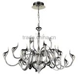 Silver chrome finish swan design fancy pendant light 29001                                                                         Quality Choice