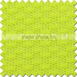 295gsm brilliant yellow and simple rhombus mesh fabric for dress,garments