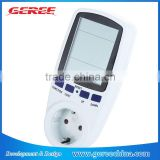 EU digital Power Consumption Energy Watt current Voltage Meter timer Electricity Monitor Analyzer