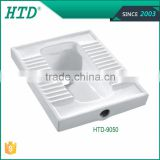 HTD-9050 porcelain squatting pan wc toilet sanitary